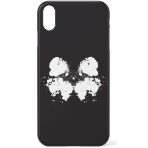 Rorschach Inkblot Black Phone Case for iPhone and Android