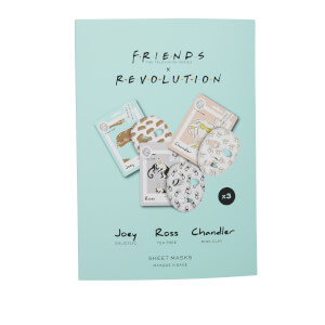 Revolution X Friends Male Sheet Mask Set