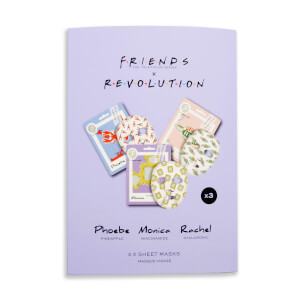 Revolution X Friends Female Sheet Mask Set