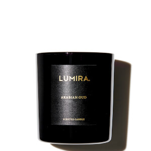 LUMIRA Arabian Oud Black Candle 300g