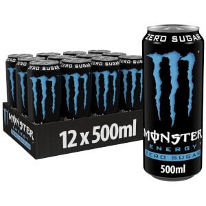 Monster Zero Sugar  12 x 500ml