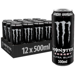 Monster Ultra Black  12 x 500ml