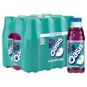 Oasis Blackcurrant Apple 12 x 500ml