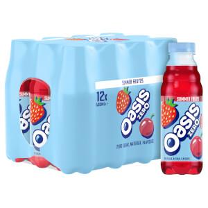 Oasis Summer Fruits Zero 12 x 500ml