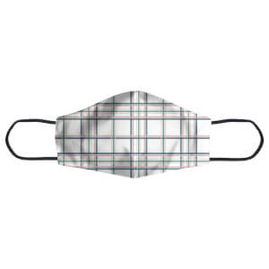 Tartan Thin Stripes Face Mask
