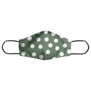 Khaki Polka Dots Face Mask