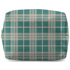 Home Tartan Makeup Bag