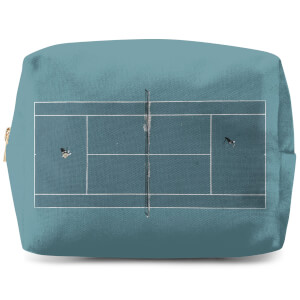 Teal Court Wash Bag