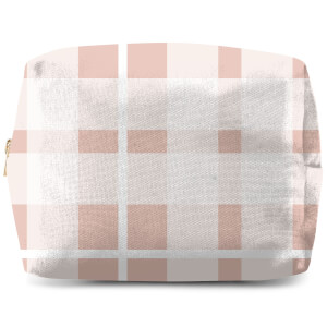 Plush Tartan Wash Bag
