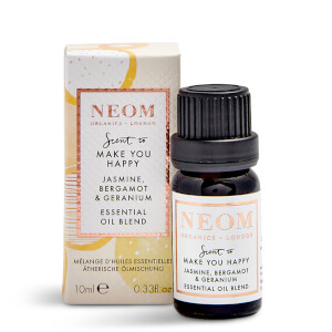 NEOM Jasmine, Bergamot and Geranium Essential Oil Blend 10ml