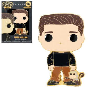 Friends Ross with Marcel Funko Pop! Pin