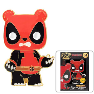 Marvel Panda Deadpool Funko Pop! Pin
