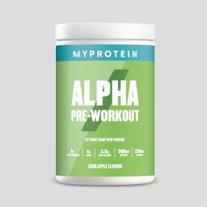 Myprotein Alpha Pre-Workout, Sour Apple, 600g