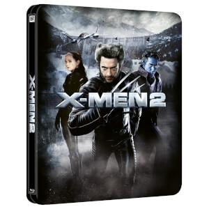 X-Men 2 - Zavvi Exclusive 4K Ultra HD Lenticular Steelbook (Includes Blu-ray)