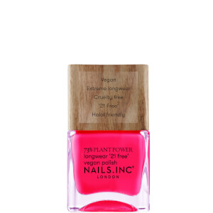 nails inc. 73% Plant Power Nail Varnish - and Breathe 14ml