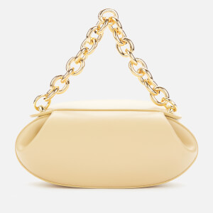 Yuzefi Women's Dinner Roll Leather Shoulder Bag - Straw