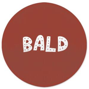 Bald Round Bath Mat