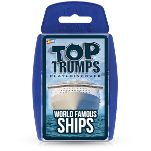 Top Trumps Card Game - World Famous Ships Edition
