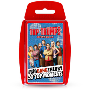 Top Trumps Card Game - The Big Bang Theory Edition from I Want One Of Those