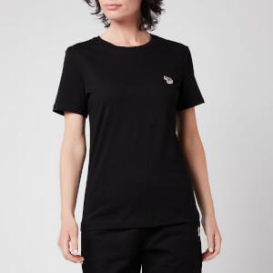 PS Paul Smith Women's Zebra T-Shirt - Black