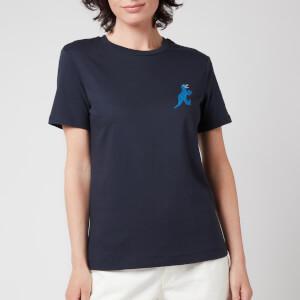 PS Paul Smith Women's Small Dino Printed T-Shirt - Navy