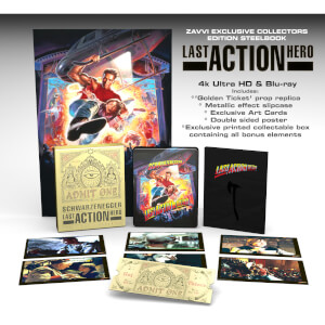 Last Action Hero - 4K Ultra HD Zavvi Exclusive Collector's Edition Steelbook (Includes 2D Blu-ray)