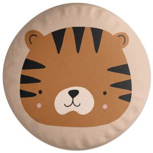 Tiger Round Cushion Round Cushion