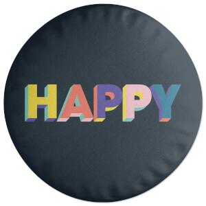 Happy Round Cushion