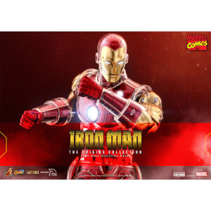 Hot Toys Marvel Iron Man 1:6 Scale Figure The Origins Collection