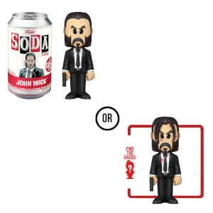 John Wick Vinyl Soda Figure in Collector Can