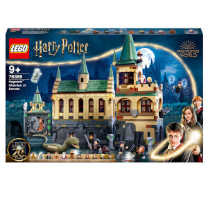 LEGO Harry Potter Great Hall & Chamber of Secrets Building Set (76389)