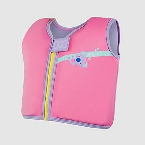 Infant Koala Printed Float Vest Pink
