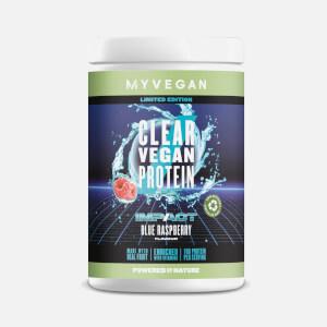 Чист веган протеин - синя малина