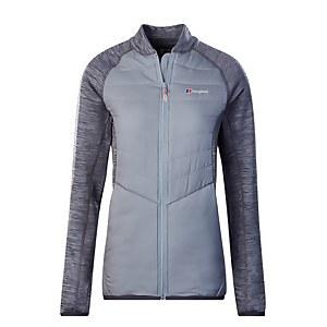 Women's Hybrid Insulated Jacket - Grey