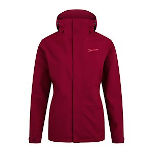 Women's Hillwalker Interactive Waterproof Jacket - Red