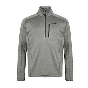 Men's Spitzer Half Zip Fleece - Grey