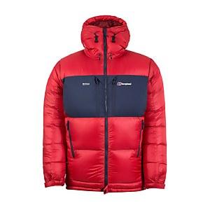 Men's Ramche Trans-Antarctic Reflect Jacket - Red / Blue