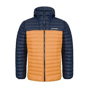 Men's Vaskye Insulated Jacket - Yellow / Dark Blue