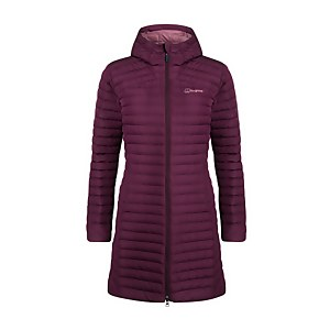 Women's Nula Micro Long Insulated Jacket - Purple