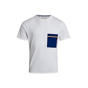 Men's Drakestone Pocket Tee - White / Blue