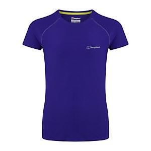 Women's 24/7 Short Sleeve Tech Baselayer - Purple