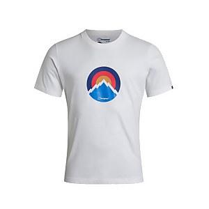 Men's Modern Mountain T-Shirt - White