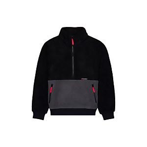 Unisex Polar 90 Fleece Half Zip - Black