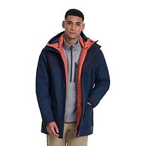 Men's Breccan Parka Jacket - Blue