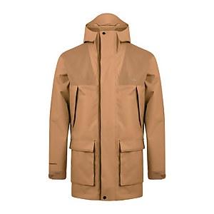 Men's Breccan Parka Jacket - Natural/Yellow