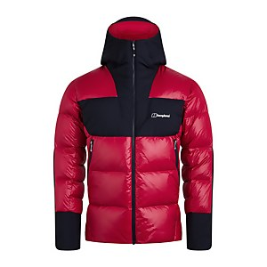 Men's Arkos Reflect Down Jacket - Red / Blue