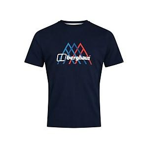 Men's Peak Fusion Grid T-Shirt - Blue