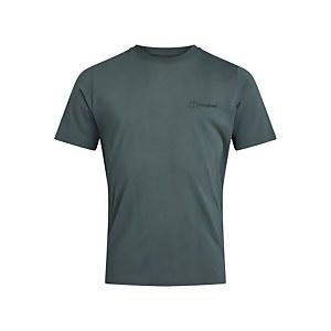 Men's Organic Colour Logo T-Shirt - Green