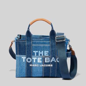 Marc Jacobs Women's The Mini Tote Bag Denim - Blue Denim
