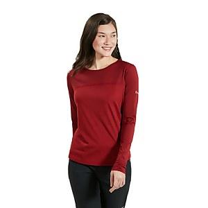 Women's Voyager Tech Tee Short Sleeve Crew -Red
